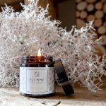 Primitif pommadier 120ml Bougie Artisanale Parfumée Flemme allumée