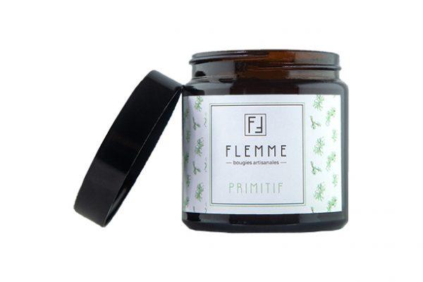 Primitif - Flemme Bougie artisanale naturelle parfumée