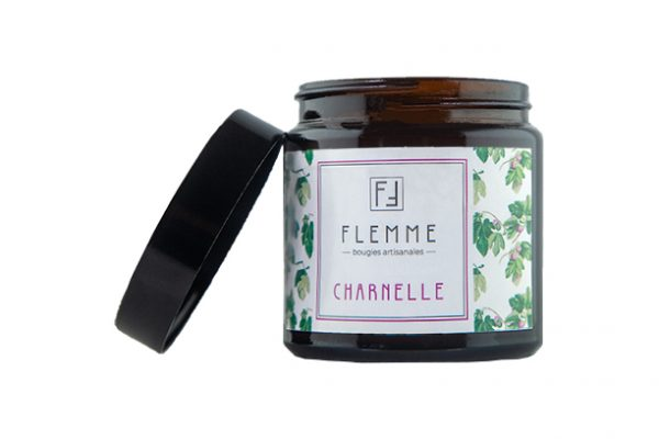 Charnelle - Flemme Bougie artisanale naturelle parfumée