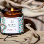 Exubérante pommadier 120ml Bougie Artisanale Parfumée Flemme allumée