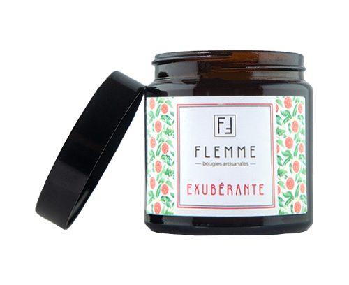 Exubérante - Flemme Bougie artisanale naturelle parfumée