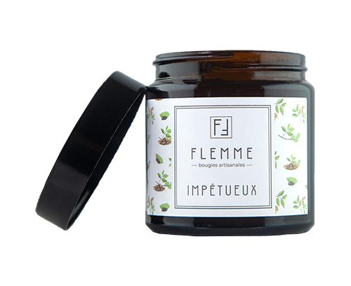 Impétueux - Flemme Bougie artisanale naturelle parfumée