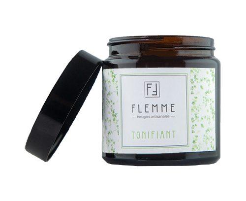 Tonifiant - Flemme Bougie artisanale naturelle parfumée